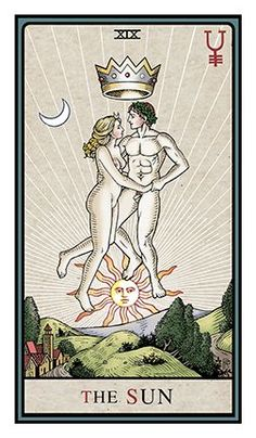 Image result for the alchemical tarot robert place the sun