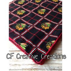 Chicago Blackhawks Blanket by CFCreativeCreations on Etsy