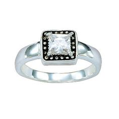 Montana Silversmiths - Women's Western Princess Solitaire Ring