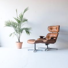 Eames Style Selig Lounge Chair and Ottoman $795