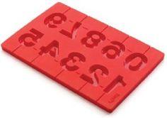 Stampo lecca lecca numeri Lekuè #biscuit #pops #lekuè