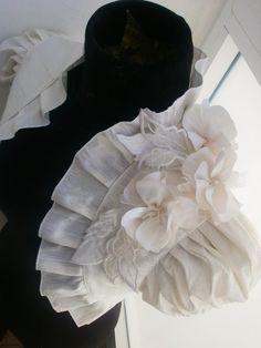IVORY ORCHID dupioni silk ivory bolero jacket LINED bridal bolero wedding shrug bridal shrug wedding bolero. $89.90, via Etsy.