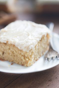 Old Fashioned Apple Cake With Brown Sugar Frosting Recipe