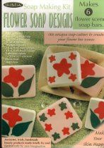 Flower Soap Scenes Soap Kit by FlavorTools on Etsy Soap Making Process, Soap Making Kits, Soap Making Recipes, Soap Making Supplies, Soap Cutter, Wholesale Soap, Flower Bar, How To Make Oil, Birthday Cake Decorating