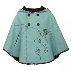 Darling toddler / girl cape