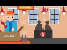 this video is infographic about the evolution of coca-cola bottle