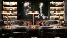 Premium smokes, luxury spirits, and small plates may soon be joined by food from Nobu and Guy Savoy…