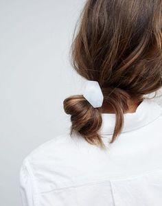 ASOS Resin Shape Disc Hair Tie