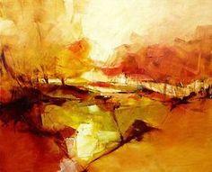 New oil paintings by Gérard Mursic.