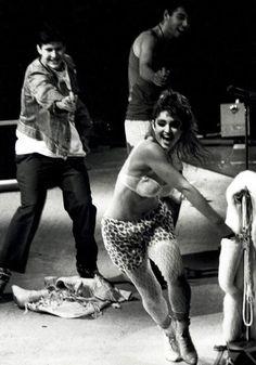 Madonna & Beastie Boys watergun fight