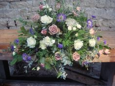 Country style table arrangement