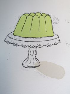 Gooseberry Jelly - Hand Printed, Signed, Screenprint