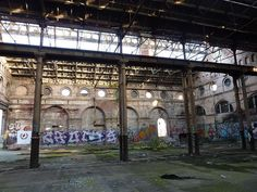 Exploring the Cavernous Shell and Underground Tunnels of the Abandoned Shrubhill Tram Depot
