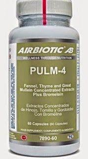 Tu  Herbolario Aloe, Bienestar en Aloe: Pulm-4 de Airbiotic Eliminación de la mucosidad