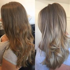 S U N K I S S E D ☀️ Babylights freehand painted remaining hair using Blonde Hair Color Natural, Beige Blonde Hair, Brown Hair Balayage, Hair Color Balayage, Brunette Hair, Treatment For Bleached Hair, Beautiful Hair Color, Light Hair, Smooth Hair