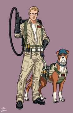 Kevin Beckman [Ghostbuster] (Earth-27) commission by phil-cho on DeviantArt