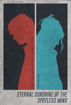 Eternal Sunshine of the Spotless Mind - minimal movie poster I