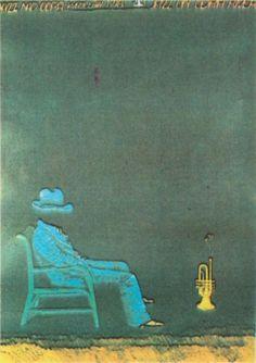 Jazz, Polish, Poster, Painting, Vintage, Vitreous Enamel, Jazz Music, Painting Art, Paintings
