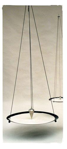 Sandpendel hängend 150 cm Edelstahl ink. Sand Meditation Mandala Yoga  A102957