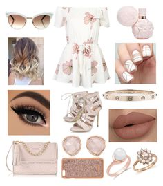 """""""Valentines Day/Night Look #7"""" by micaylawalker12 on Polyvore featuring WithChic, Carvela, Tory Burch, Gucci, Monica Vinader, Henri Bendel, Cartier and Bloomingdale's"""
