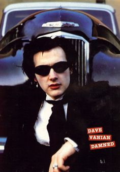 The Damned: Dave Vanian, Punk Lives Magazine, early 1980s via