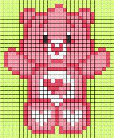 Small Cross Stitch, Beaded Cross Stitch, Cross Stitch Baby, Cross Stitch Designs, Cross Stitch Patterns, Perler Bead Templates, Perler Patterns, Kandi Patterns, Perler Bead Art