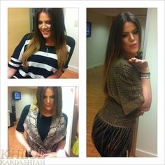 LOVING THE FRINGE TOP RIGHT NOW!    Khloe Kardashian Backstage At QVC To Promote Her K-Dash By Kardashian Line
