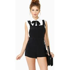 Nasty Gal Bad Manners Overalls $36 (31% OFF)
