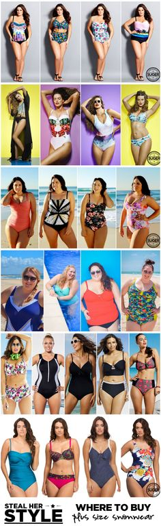 Where to Buy Plus Size Swimwear Summer 2014/2015 | Suger Coat It: An Australian Plus Size Fashion & Lifestyle Blog