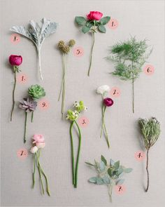 How to make a pretty spring bouquet  #diy #bouquet #weddingchicks http://www.weddingchicks.com/2014/03/12/pink-and-green-bridal-bouquet/