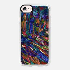 """ENTRANCED 1"" By Artist Julia Di Sano, Ebi Emporium on @Casetify #casetify #EbiEmporium #CasetifyArtist #chic #colorful #boldcolors #iPhoneCase #mermaid #underwater #ocean #multicolor #sapphire #blue #orange #chic #iPhone6 #iPhone7 #iPhone7Plus #Samsung #tech #musthave #summer #style #oceaniPhone #abstractart"