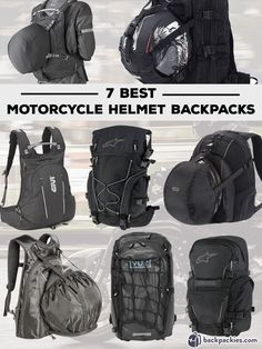 Looking for the best motorcycle backpack with helmet holder? We list the best motorcycle helmet backpacks available right now.