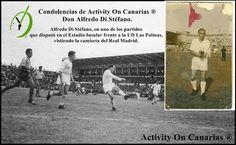 Condolencias de Activity On Canarias ®, por el fallecimiento de Di Stéfano.