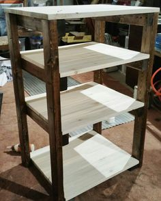 Custom order 2-tones shelf