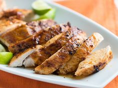 Tequila Lime Roasted Turkey Breast -  I would do this in a crock pot and use boneless