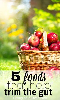 5 foods that help trim the gut on Eating on a Dime: How do you lose belly fat? If you are trying to drop a few pounds, then this post is for you. Here are 5 foods that will help you feel full longer and help you drop that weight. Get Healthy, Healthy Weight, Healthy Tips, Healthy Habits, Healthy Foods, Diet Foods, Healthy Recipes, Losing Weight Tips, How To Lose Weight Fast
