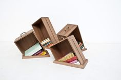 """""""Hole In The Floor"""" Bookcase by Raw Edges"""