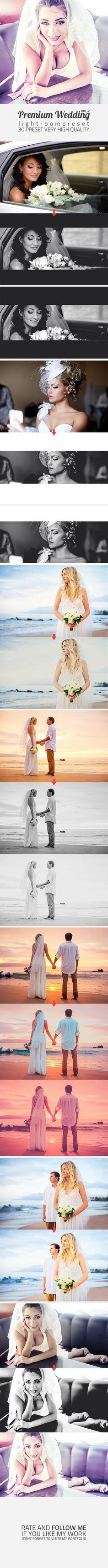 Premium Wedding Preset Vol-2 - Lightroom Presets Add-ons