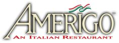 Amerigo-- Great gluten free menu (printed up and all--snazzy!)  Just ask the hostess for it! Salads, meats, PASTA, and even dessert!