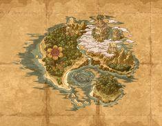 WarioLand-ShakeIt!-Area4-JiggleJungle(In-GameMap).png (620×480)