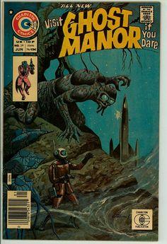 Ghost Manor (2nd series) 29 (VF- 7.5)