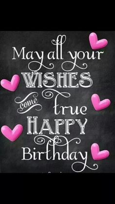 . Happy Birthday Chalkboard, Happy Birthday Pictures, Happy Birthday Messages, Happy Birthday Quotes, Birthday Love, Happy Birthday Greetings, Birthday Brunch, Free Birthday, Happy Birthday To Her
