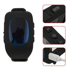 Lucky Deal $14.54, Buy Q50 Smart Watch for Kids Children LCD GSM GPRS Locator Tracker Anti-Lost phone support Kids Watch for IOS Android Without GPS