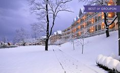 Omni Bedford Springs Resort - Bedford, PA: Stay with $50 Resort Credit at Omni Bedford Springs Resort in Bedford, PA. Dates into April.