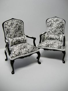 1:12th scale miniature chairs from DSCN4522 by Ken@JBM, via Flickr