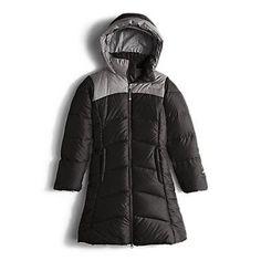 The North Face Girls' Elisa Down Parka Coat: Kids