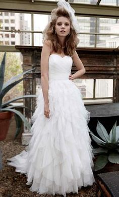 Galina Wedding Dress - This is actually really pretty...but way too big...