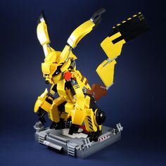 """Pikachu mecha"" by LEGO 7: Pimped from Flickr"