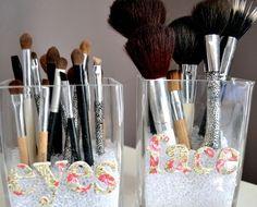 Easy To Make DIY Makeup Organizer