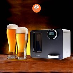 The ArtBrew smart solution is going to change the brewing game. Auto DIY your own beer.  #beer #craftbeer #diy #automachine #hightech #art #deisgn #elegant #homemade #drink #tasty